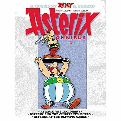 Asterix Omnibus 4: Asterix the Legionary, Asterix and t - Paperback NEW Rene Gos