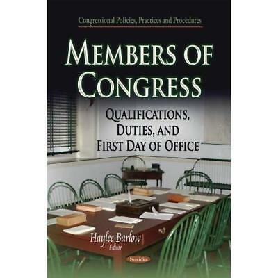 MEMBERS OF CONGRESS QUALIFICA (Congressional Policies,  - Paperback NEW BARLOW H