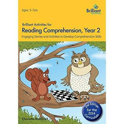 Brilliant Activities for Reading Comprehension, Year 2  - Paperback NEW Charlott