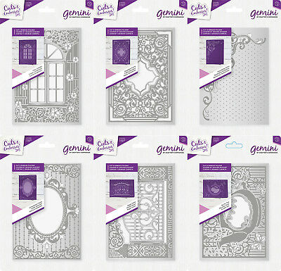 "*NEW 2018* GEMINI - 5 x 7"" Cut & Emboss Folders - by Crafters Companion"