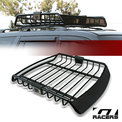 Tyger Heavy Duty Roof Top Cargo Basket Luggage Carrier Rack 47 X37