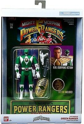 Bandai Mighty Power Rangers Legacy Collection Green Ranger Tommy Morphin Figure
