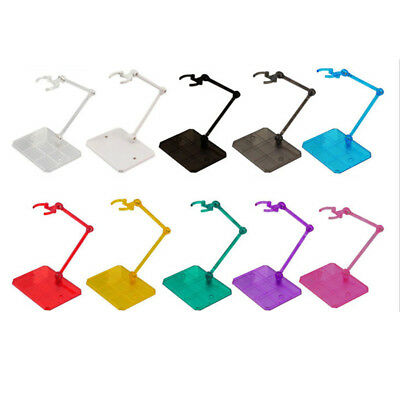 Multi Color Dynamic Action Figure Doll Adjustable Display Stand With Base S