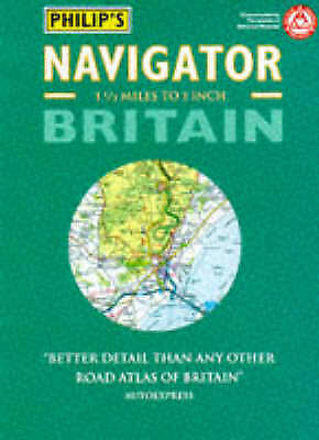 (Good)-Philip's Navigator Road Map Britain (Road Atlas) (Map)--0540074918