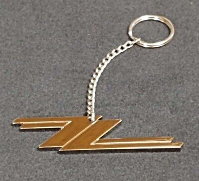 Zz Top Original New Key Ring Chain Llavero Porte Cles Chrome Long Keychain