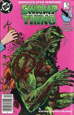 Swamp Thing (2nd Series) Canadian Price Variant #43 1985 FN Stock Image