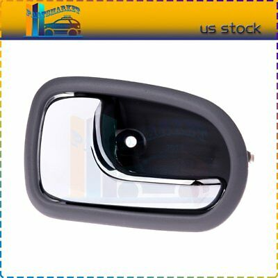 For 95-03 Protege Inside Inner Interior Gray Front/Rear Driver Side Door Handle