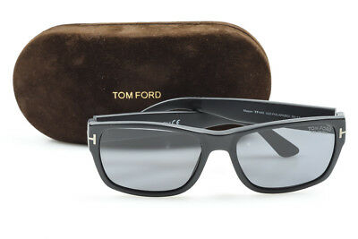c534f310dbf9 Tom Ford Mason TF445 black plastic polarized square frame sunglasses NEW   445