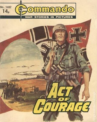 Commando War Stories in Pictures (D. C. Thomson Digest) #1482 1981 VG/FN 5.0