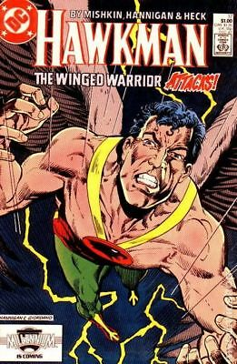 Hawkman (2nd Series) #17 1987 VF 8.0 Stock Image