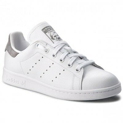 Adidas Originals Stan Smith Mens Shoes White Grey Casual Sneakers - Size US 11