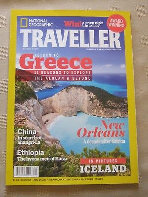 National Geographic Traveller / May 2015 / New Orleans / China / Ethiopia