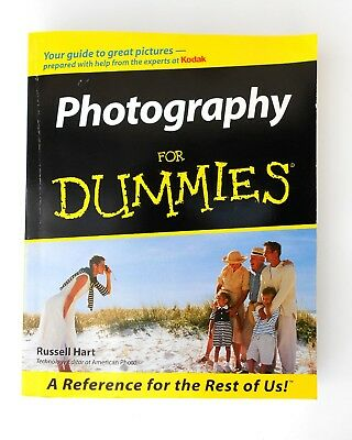 Photography For Dummies,  404 Page Softback Book