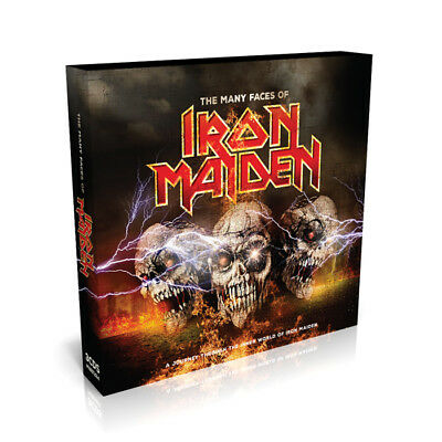 Many Faces Of Iron Maiden - Various - Heavy Metal Music CD