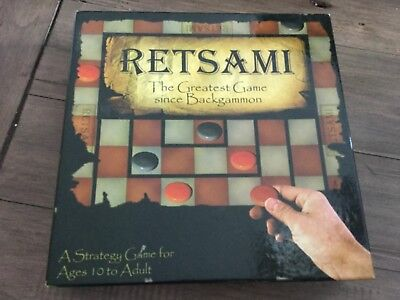 Retsami The Greatest Game Since Backgammon Adult Strategy Game