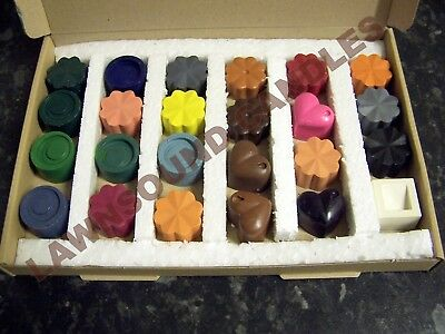 Dyes for candle making Set C...dye up to 24 kilos of wax. 24 different colours