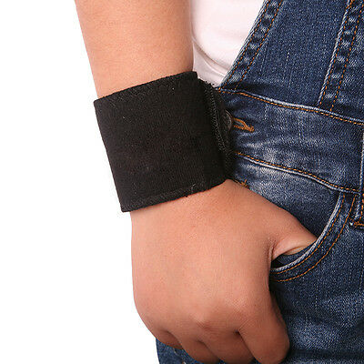Tourmaline Self-Heating Far Infrared Magnetic Therapy Heating Wrist Band DECO
