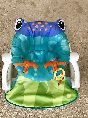 Fisher-price Sit-me-up Floor seat Frog