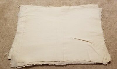 14 Vintage Flour or Feedsack LOT Cotton Muslin Fabric For Quilting or Crafts