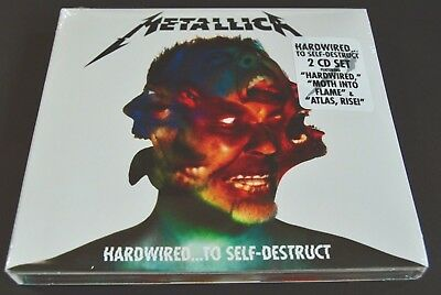 Metallica ~ Hardwired To Self Destruct ~ NEW 2 x CD Set ~ Sealed Digipack 2016