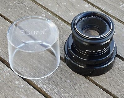Durst Neonon 50mm f2.8 Enlarging Lens - Clean and Tested - inc Storage Case