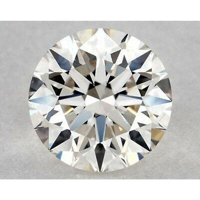 5.00 MM to 12.00 MM Off White Yellow Round Excellent Diamond Cut Real Moissanite