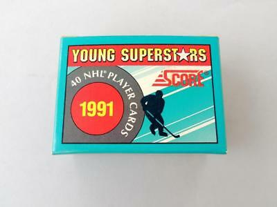 1991 SCORE NHL Hockey Young SuperStars Series 40 Trading Cards Box Free Ship