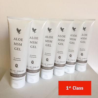 Forever Living MSM Gel - Aloe Vera - New and Sealed - FREE FAST P&P