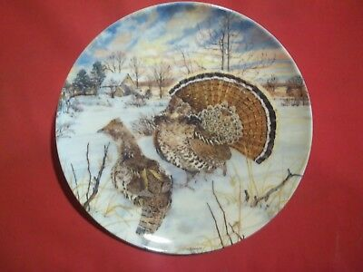 The Grouse Plate Knowles Collectible 1986 By Wayne Anderson  1