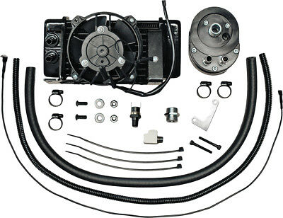 JAGG LOWMOUNT OIL COOLER SYSTEM (FAN-ASSISTED) 751-FP2400 MC Harley-Davidson