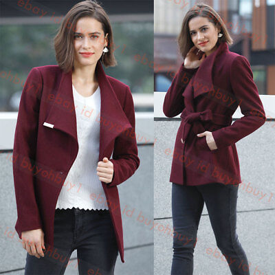 a few days away best shoes promo code NEW TED BAKER KEYLA Short Wrap Cashmere Blend Coat Maroon 1(US4 ...