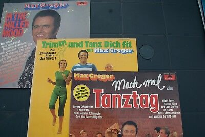 """Musik. Orchester Mx Greger """"Trimm und tanz dich fit"""", 3 LPs"""