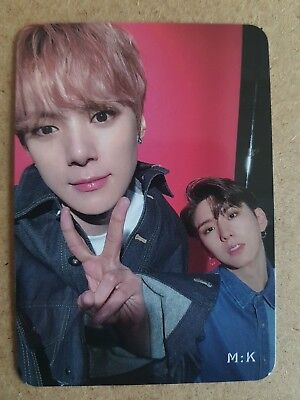 MONSTA X KIHYUN MINHYUK #2 Official PHOTOCARD TAKE.1 ARE YOU THERE? 2nd Album