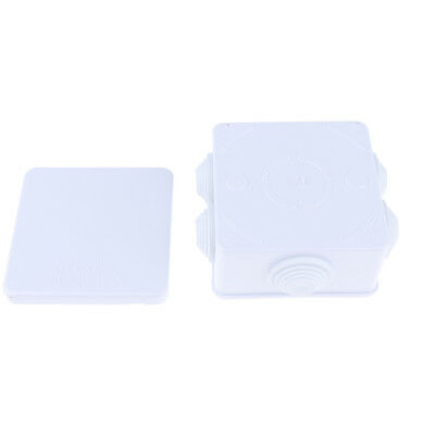 Waterproof Electronic Cables Enclosure Plastic Case Screw Junction Box IP55