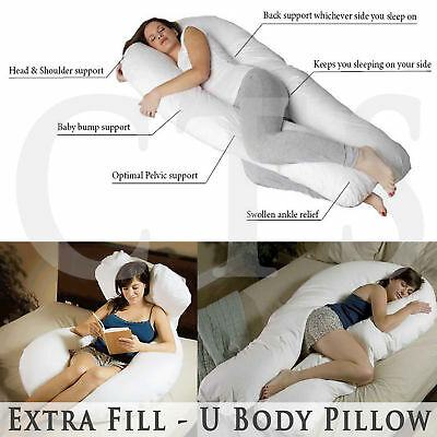9Ft/12Ft U Body/Bolster Support Maternity Pregnancy Support Pillow Case Only