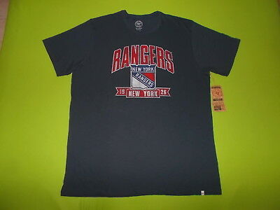 NEW Shirt NEW YORK RANGERS (XXL) (2XL) '47 FORTY SEVEN PERFECT !!! NHL
