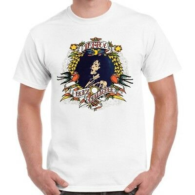 Rory Gallagher Tattoo Music Blues Rock Retro T Shirt 267