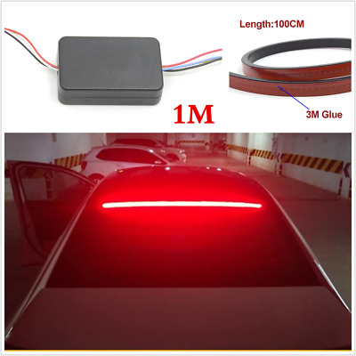 1M LEDs strip 144smd 3030 Flexible Strips Car Rear Dynamic Streamer Brake Light