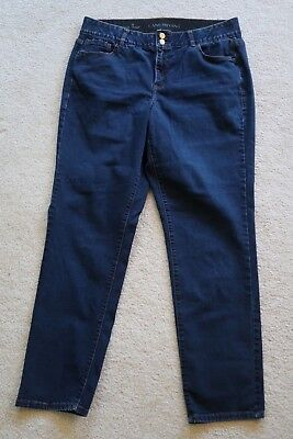 + Womens Jeans size 18 reg, Lane Bryant Straight - tighter tummy technology blue