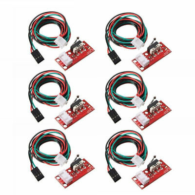 6pcs Endstop Limit Mechanical End Stop Switch W/ Cable fits CNC 3D Printer RAMPS