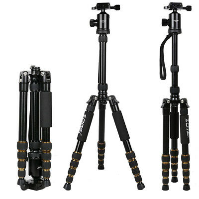 ZOMEI 669 Professional Aluminium Tripod Monopod Ball Head Travel For DSLR Camera
