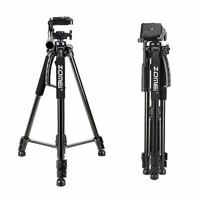 Zomei Red Pro Aluminium Q111 Tripod Heavy Duty Pan Head For DSLR Camera Video