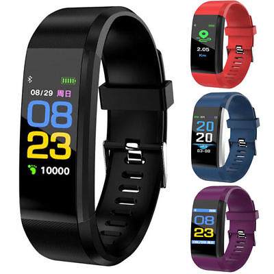Smart Bracelet Watch Wristband Fitness Tracker Blood Pressure/Heart Rate Monitor