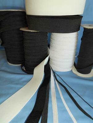 """Top Quality Elastic 3MM ⅛ """"  4 CORD BLACK Face Mask sewing TEN METRES"""