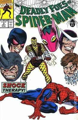 Deadly Foes of Spider-Man #3 1991 FN Stock Image