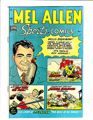 "Mel Allen Sports Comics   No.5     : 1949 :     : ""The Voice Of The Yankees"" :"