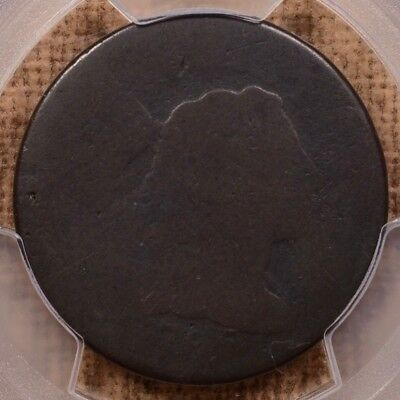 1795 S.78 Plain Edge Large cent, PCGS PO1, brown & smooth    DavidKahnRareCoins