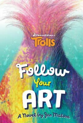 Trolls: Follow Your Art by Scholastic 9781407171432 (Paperback, 2016)