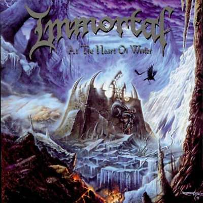IMMORTAL - At the Heart of Winter  LP  SILVER/ GOLD
