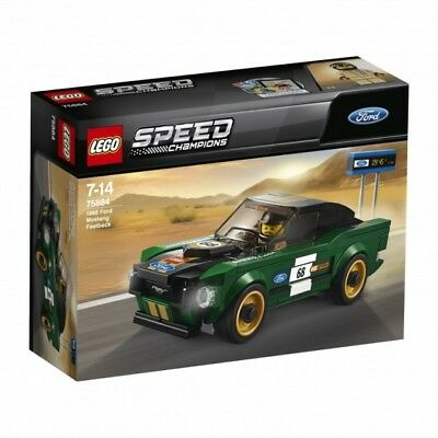 New LEGO Ford Mustang 1968 Fastback  35030118
